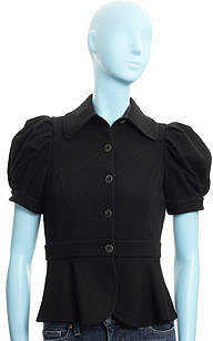 Diane von Furstenberg Nueva Jacket- BLACK