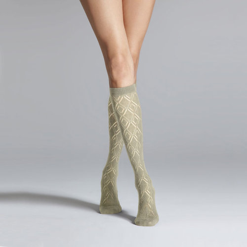 Diamond Knee Sock