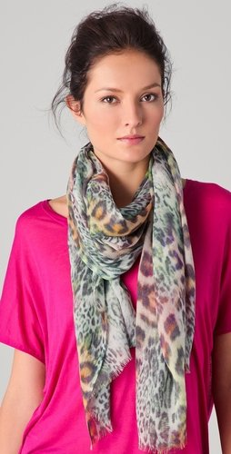 Tilo Animal Print Scarf