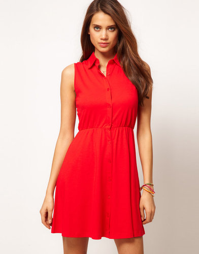 ASOS Shirt Dress With Collar