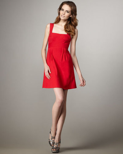 Nanette Lepore Red Buzzin Around Dress