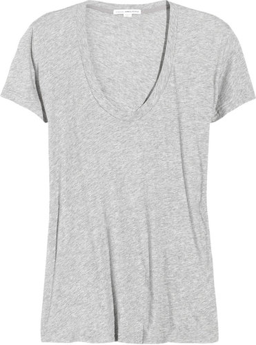 James Perse Loose-fit cotton-blend jersey T-shirt