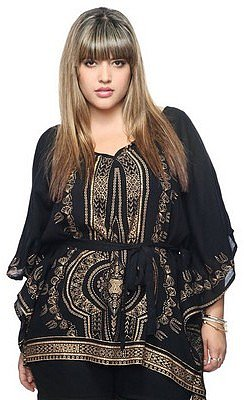 Forever 21+ Regal Print Tunic