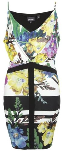 Just Cavalli Tropical Print Dress