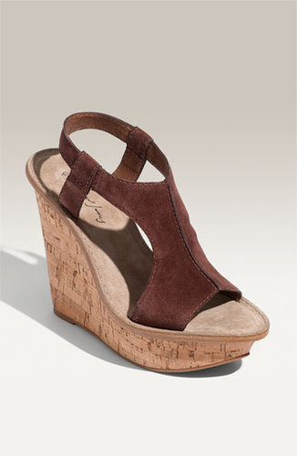 Elizabeth and James 'Harp' Platform Wedge Sandal
