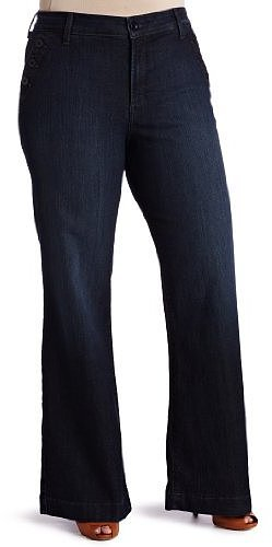 Not Your Daughter's Jeans Women's Plus-Size Tori Sailor Wideleg Jean