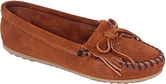 Minnetonka - 402 - Brown Suede Moccasin