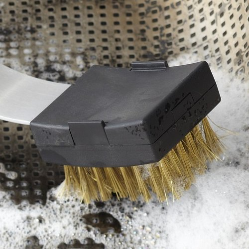 Steel Grill Pan Cleaning Brush Replacement Heads