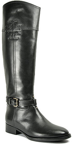 Tory Burch - Blair - Black Leather Riding Boot