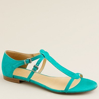 Iris suede sandals