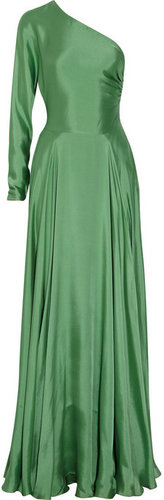 Ralph Lauren Collection Larisa one-shoulder silk gown