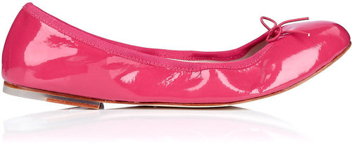 Bloch Bright Pink Plain Stretch Ballet Pump