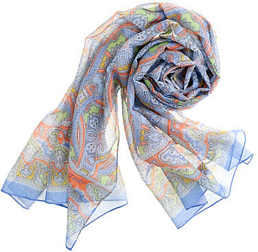 Drake&#039;s London paisley scarf