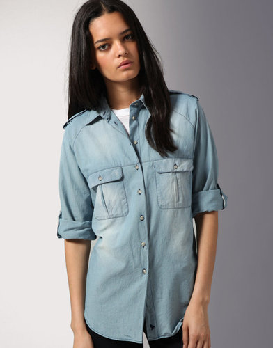 MiH Jeans Chambray Safari Shirt