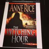 "Karencespedes ""can't stop reading"" Anne Rice's The Witching Hour."