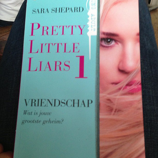 Emilyc9 shared the first book of the series that inspired the TV show Pretty Little Liars.