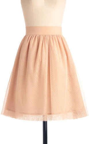 Peach Skirt
