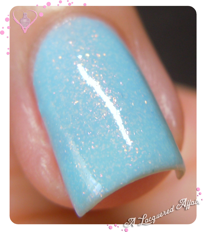 Sinful Colors Cinderella, 2 coats