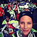Christy Turlington ran a half-marathon in NYC on St. Patrick's Day.