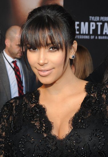 Kim Kardashian Embraces Her Baby Bump For Big Screen Debut