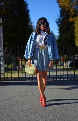 Oversized Denim Jacket For Spring