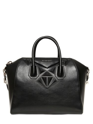 Medium Antigona 3d Geometric Figures Bag