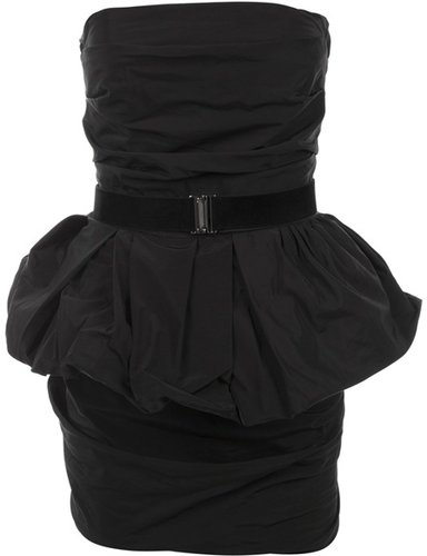La Petite S***** Belted peplum dress