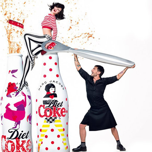 Marc Jacobs Shirtless Commercial For Diet Coke | Video