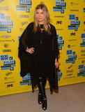 Pregnant Fergie stepped out at SXSW.