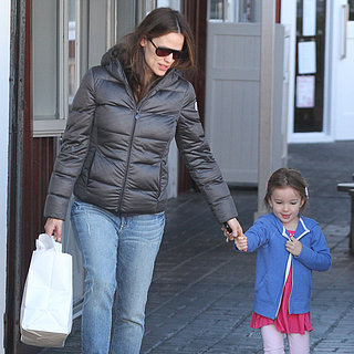Jennifer Garner Taking Sera to Breakfast in LA | Pictures