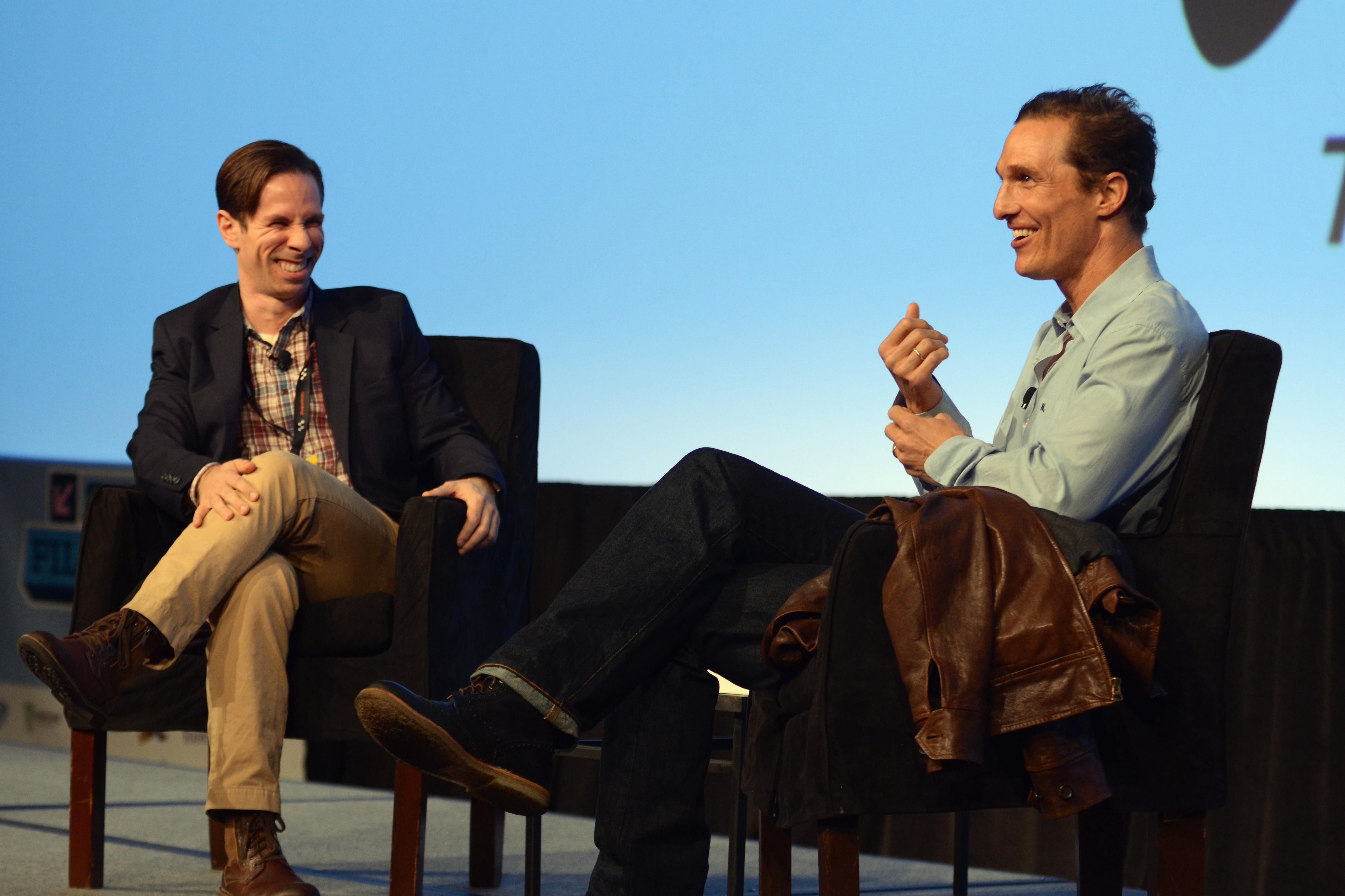 Matthew McConaughey had a sit-down with Scott Foundas at SXSW.