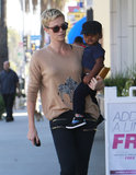 Charlize Theron Steps Out For a Sweet Treat With Jackson