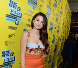 Selena Gomez worked her stuff on the red carpet.