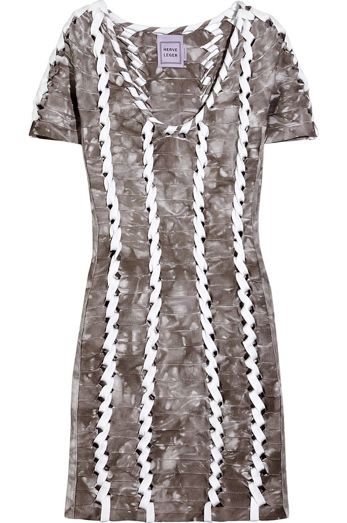 Hervé Léger laser-cut bandage mini dress ($360, originally $2,400)