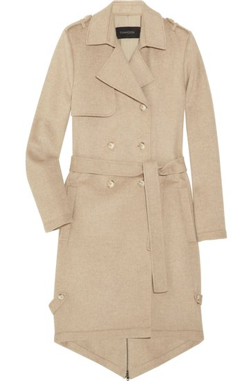 Thakoon wool-blend felt trench coat ($296, originally $1,970)
