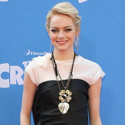 Emma Stone in Lanvin at The Croods NY Premiere (Video)