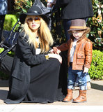 Rachel Zoe and her son, Skyler, went on a shopping excursion together in LA.