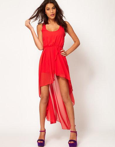 Love Chiffon Wrap Hi Lo Dress