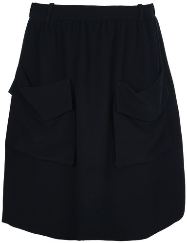 Chloé Pocket detailed skirt