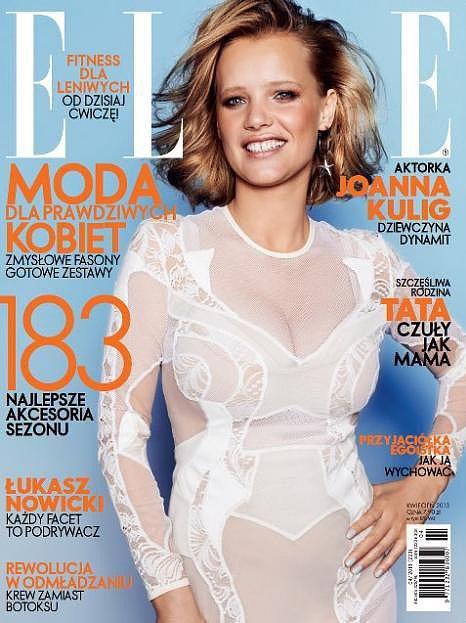 Elle Poland April 2013