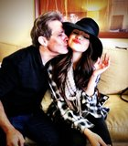 Selena Gomez visited family while in Austin, TX, for SXSW. Love the hat! Source: Twitter user selenagomez