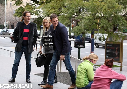 During an August 2011 trip to Buenos Aires, Michael Bublé and his wife, Luisana Lopilato, stepped out for lunch and a museum trip with a friend.