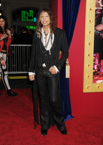Steven Tyler dropped by the event.