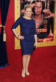Melissa Joan Hart went for a purple look.