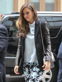 Jessica Alba Brings Her Honest New Book to NYC