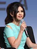 Selena Gomez spoke at the Spring Breakers press conference at SXSW.