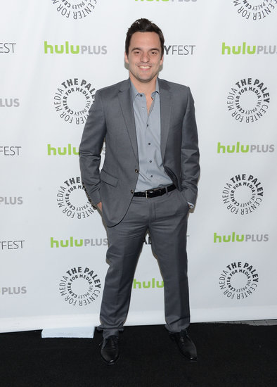 Jake Johnson suited up for PaleyFest.