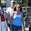Britney Spears Goes Tanning With New Boyfriend in LA
