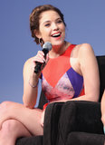 Ashley Benson took the mic at the Spring Breakers press conference at SXSW.