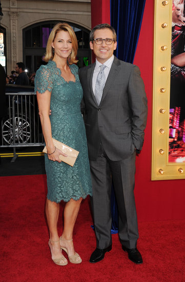 Steve Carell and his wife, Nancy, walked the red carpet together.